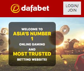 dafabet login india