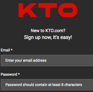 registration by KTO
