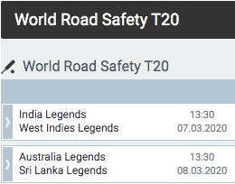 melbet road safety series t20