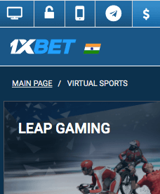 1xbet virtual betting