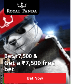bonus royal panda offer
