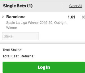betway real madrid barcelona