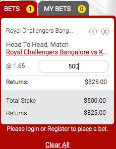 kxipvsrcb match 31 odds