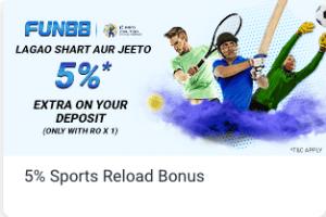 fun88 India sports bonus