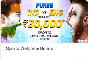 Fun88 deposit bonus India