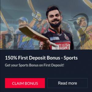 cricplayers sports bonus India