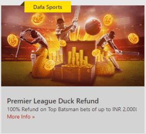 dafa sports duck bonus