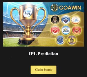 goawin ipl 2021 prediction bonus